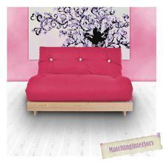 Rose-budget-futon-double-coton-matelas-canape-lit-canape-2-places-etudiant-Dig-commentaires
