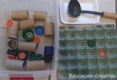 Ideas para preparar Cajas Sensoriales   Educación Creativa