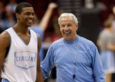 dexter strickland unc | Dexter Strickland and Roy Williams at the Heel's open practice in ...