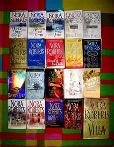 Nora Roberts- read all of these books and loved them all-- she is by far one of my favorite authors