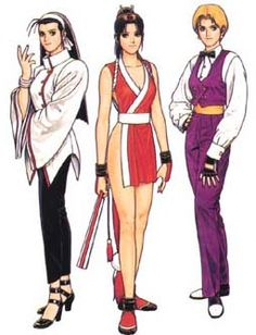 KOF Tribute: The Women Fighters Team from The King of Fighters '97 |