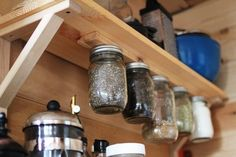 Every bit of storage space - 6 Organization Lessons to Learn from Tiny Houses