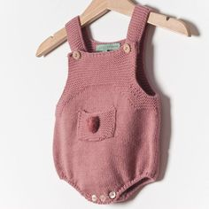 Grace Baby & Child - KNITTED ROMPER / ORQUIDEA