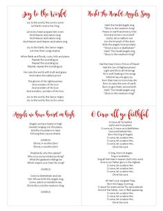 Going Caroling? Make sure you print off this free Carols Printable Songbook so you don't forget the words! Words To Christmas Songs, Christmas Carols For Kids, Christian Christmas Songs, Christmas Carol Book, Xmas Songs, Christmas Lyrics, Christmas Sheet Music, Christmas Decor, Christmas Ideas