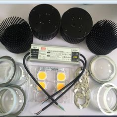 Diy Cree Cob Led Grow Light Lenses Kit with Meanwell Dimmable Led Driver Hlg Led Grow Light Led Lights for Growing From Indoor Grow Lights, Grow Lights For Plants, Led Grow Lights, Plant Lighting, Outdoor Lighting, 1w Led, Grow Lamps, Led Diy, Cob