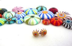 Bubbles Urchins and Carousels  lampwork tutorial by LushLampwork, £15.00