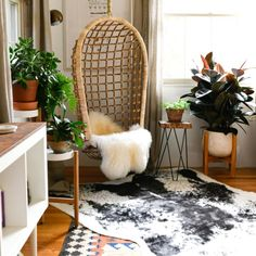 This Charming Pittsburgh Home Has 3 Hidden IKEA Hacks—Can You Spot Them? #SOdomino #room #interiordesign #furniture #table #livingroom #floor #flooring #fur