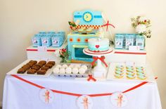 Retro Baby Shower - Party Inspirations: July 2013