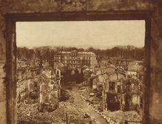 Damage at Verdun, France
