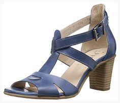 Fidji Women's V596 Dress Sandal, Blue, 40 EU/10 M US (*Partner Link)