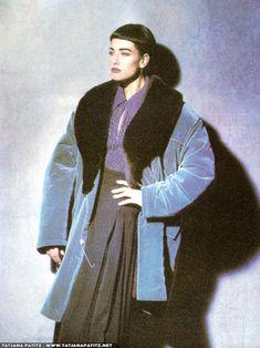 Vogue, De L'allure d'un look, Kristen McMenamy, Aug 1985. Photo Peter Lindbergh.