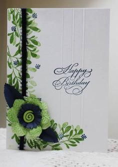 F4A132, QFTD128 Kathleen's card by Holstein - Cards and Paper Crafts at Splitcoaststampers