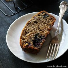 Blueberry Banana Bread: Blueberry Banana Bread is the perfect breakfast snack to serve with your morning coffee or tea.
