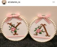Granny Square Projects, Palestinian Embroidery, Wedding Anniversary, Needlepoint, Cross Stitch Patterns, Needlework, Diy And Crafts, Projects To Try, Crochet