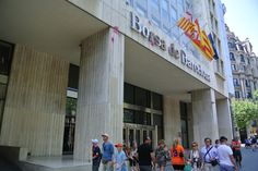Spanje in crisis: Besmeurde beurs in Barcelona