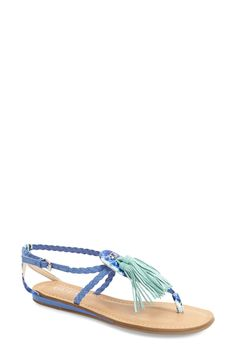 e900e1135ccbce Adoring these boho-chic sandals from Guess. They feature swingy fringe  tassels