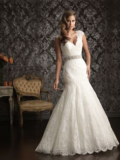 Dream wedding gown with lace