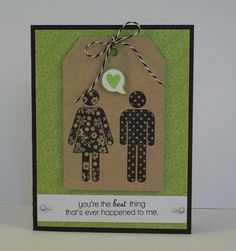 Loving Couple Card by ShareCroppersKits on Etsy, $3.00