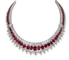 Necklace Harry Winston Christie's
