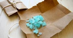 Looking for Civil War Candies? Rock candy is an easy to make Early American treat.