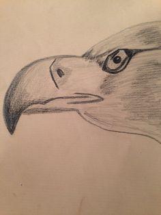 Águila a carboncillo