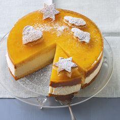 Joghurt-Torte mit Maracuja - GLUTENFREI