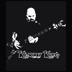 BOX'NGO - $18.99 Kerry King American musician guitarist the thrash metal band Slayer black t-shirt