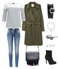 This outfit is perfect for the upcoming season. It's equally sporty and elegant as well as a hint of casual.