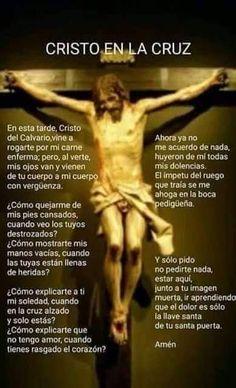 Faith Prayer, God Prayer, Prayer Quotes, Catholic Prayers In Spanish, Catholic Art, Spiritual Prayers, Jesus Christ Images, Miracle Prayer, Les Religions