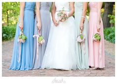 Ice Cream Pastels Vintage Wedding by Abigail K. Pastel Bridesmaid Dresses, Bridesmaid Flowers, Bridesmaids, Protea Wedding, Wedding Bouquets, Wedding Dresses, Pastel Wedding Theme, Pastel Weddings, Wedding Planning Guide