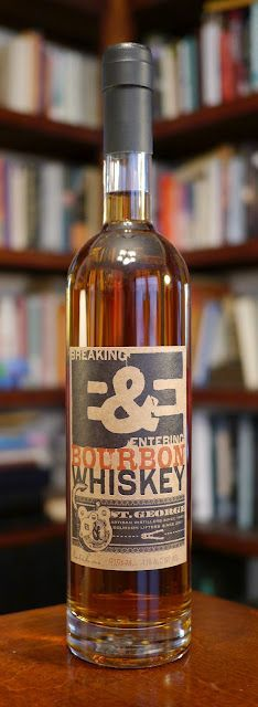 St. George's Breaking & Entering Bourbon Whiskey