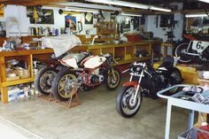 This is the shop where i tinker on bikes, karts, or whatever mechanical thing turns me on at the time