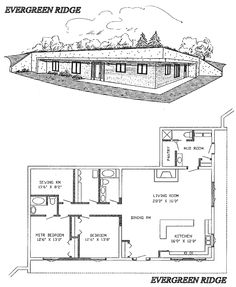 Underground Concrete Home Plans And Ideas On Pinterest
