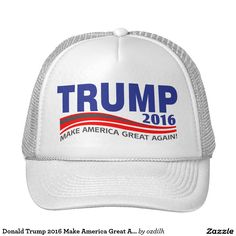 Shop Donald Trump 2016 Make America Great Again Trucker Hat created by ozdilh. Super Funny, Accessories Shop, Donald Trump, Presidents, Baseball Hats, Cap, How To Make, T Shirt, Top Hats