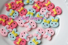 Excited to share the latest addition to my #etsy shop: 4pcs Bunny Rabbit Resin Cabochons Jewelry supplies finding earring necklace Cute phone decor http://etsy.me/2DZemh5 #supplies #wedding #jewellerymaking #mixedcolor #resin #diyphonecase #earring #miniature #dollhous