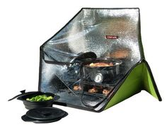 Sunflair Portable Solar Oven Deluxe with Complete Cookware, Dehydrating Racks, and Thermometer Sunflair http://smile.amazon.com/dp/B008SGB2KU/ref=cm_sw_r_pi_dp_fcV6ub184C4G9