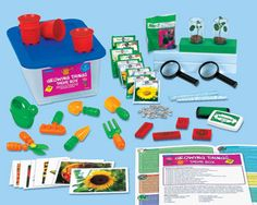 Kids learn all about plants and how they grow with Lakeshore's Growing Things Theme Box!