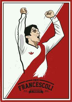super campeones · Enzo Francescoli of River Plate wallpaper. Camisa 10 e780fb8a7e030