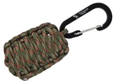 "The Friendly Swede Carabiner ""Grenade"" Survival Kit"