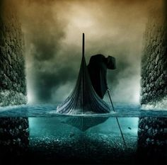 River Styx: with the warmth and life gone from your body, let your soul rise from its case and descend into oblivion   and finally rest, just pass the river and be satisfied.