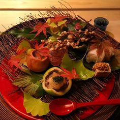 Fall on a plate. #kaiseki #hassun by bmcquitty