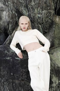 Yulia Lobova by Emily Laye in Statue Blanc for Fashion Gone Rogue | Fashion Gone Rogue: The Latest in Editorials and Campaigns
