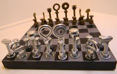 Industrial chess board