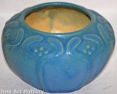 Van Briggle Pottery 1907-12 Vase (Shape 743) from Just Art Pottery