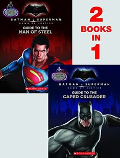 Guide to the Caped Crusader / Guide to the Man of Steel: Movie Flip Book (Batman vs. Superman: Dawn  @ niftywarehouse.com #NiftyWarehouse #Superman #DC #Comics #ComicBooks