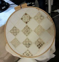 Asuman Karagöz's media content and analytics Hardanger Embroidery, White Embroidery, Diy Embroidery, Sewing Humor, Romanian Lace, Drawn Thread, Girl Dress Patterns, Craft Bags, Embroidery Needles