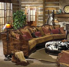 Tomlyn Traditional Styled Sectional Sofa With Camel