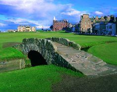 Swilken Bridge St Andrews The Old Course