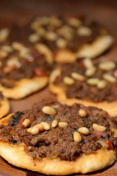 Lebanese Sfeeha (Meat Pie)