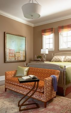 orange, peach and green combo, Like these colors for family room...?